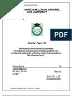 International Environmental Law Atul Sir