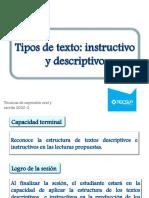 TEOE 10- TIPOS DE TEXTO