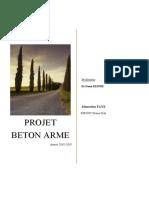 Mamadou FAYE - projet Beěton armeě