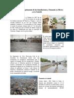 Tsunami e inundaciones aca canijas