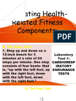 health-related fitness components 2
