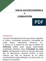 DELINCUENCIA SOCIOECONÓMICA Y CORRUPCIÓN