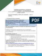 Guia de actividades y Rúbrica de evaluación - Unidad 2- Caso 2 - Análisis