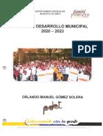 PDM Simití 2020-2023