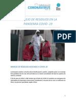 TEMA 1.1 MANEJO DE RESIDIOS EN EL COVID-19