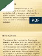 PRESENTACION DEL STOCK MINIMOS Y FRACTIL CRITICO.pptx