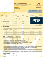 policy service request form4