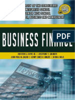 Finance Module 3 FS Prep, Analysis, Interpretation
