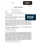 Opinión OSCE 027-13 - PRE - Traducción Oficial Para Firma de Contrato