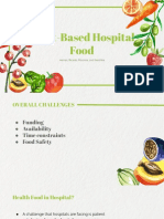 food trends in hospitals