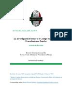 Medicina Forense y Codigo Nacional
