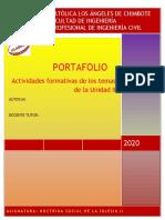 Portafolio II Unidad - Doctrina social de la iglesia