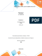 Fase 2 - Estudio de caso sobre demanda, oferta y punto de equilibrio del mercado