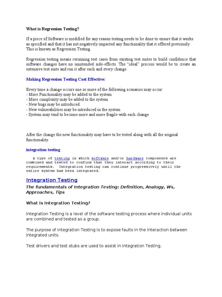 testing_funda | software testing | unit testing