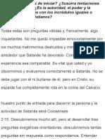 SATANAS ES CAPAZ DE SUSURRAR AL OIDO!!!!!