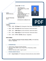 CV Arbi Widiyantoro