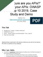 Securing_your_APIs_-_OWASP_API_Top_10_2019,_Real-life_Case.pdf
