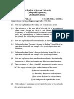 NIRAJ MISHRA QUESTION BANK PAPER-1