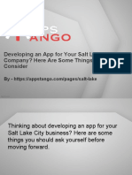 Developing an App for Your Salt Lake City Company? Here Are Some Things You Should Consider