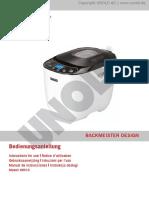 68010 BACKMEISTER Design - Manual