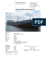 Ship Particular JM3 (BARU)