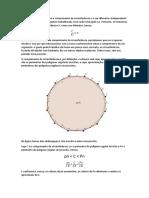 O numero π é a razão entre o comprimento da circunferência e o seu diâmetro