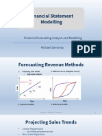 Financial Modeling Forecasting Revenues, Costs, etc