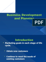 Chap 11 Business Development and Planning