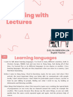 Teaching with Lectures INGLES