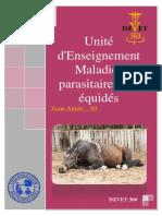 S9 - Maladies Parasitaires Des Équidés-DZVET360-Cours-veterinaires