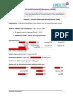 Questionnaire SAR Medoune