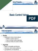 Basic Control Valve