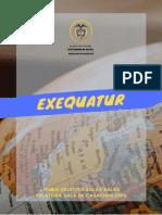 Cuadro Exequatur 2020-I