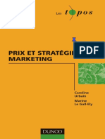 Prix et stratégie marketing by Caroline Urbain  Marine Le Gall-Ely (z-lib.org)