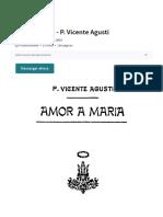 Amor a María - P. Vicente Agusti | María, madre de Jesús | Gracia divina(1).pdf