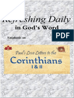"Emphasis on ""1 & 2 Corinthians""  January 2021"