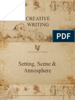 Setting, Scene and Atmosphere