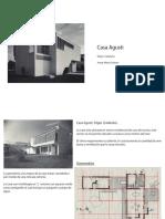 Analisis Casa Augusti David Guerrero