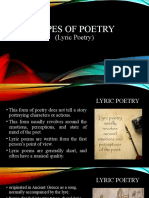 LYRIC-POETRY