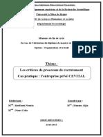 Les critères de processus de recrutement.pdf