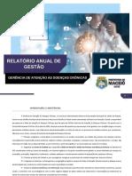 Relatório Anual de Gestão - formato final para revisão