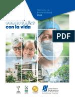 Centro Medico Imbanaco - Sostenibilidad 2018-CMI