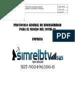 PROTOCOLO GENERAL DE BIOSEGURIDAD PARA EL MANEJO DEL COVID SIMRELBTV (2)