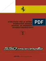 FERRARI Workshop Manual 550 Maranello 2