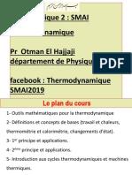 Outils Mathématiques Pour La Thermodynamique 2019 Formules