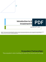 Introduction to the Impact Investment Ecosystem