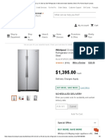 Whirlpool 33-inch 22 cu. ft. Side by Side Refrigerator in Monochromatic Stainless Steel _ The Home Depot Canada
