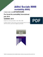 SA8000 V-2014