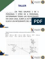 Taller_Velocidad Mecanismos2020 _II