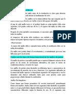 INSTALACION DE ANILLOS